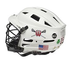 Lacrosse Helmet Logos