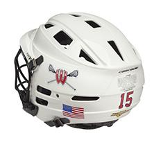 Lacrosse Helmet Numbers